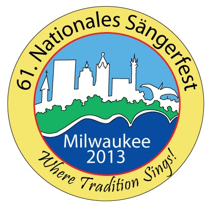 61. Nationales Sängerfest Pin